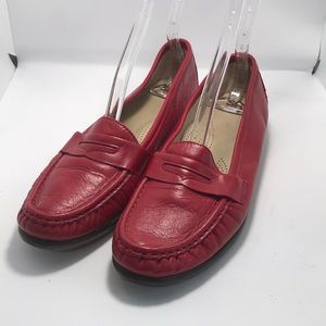 Sas red Tripp's comfort penny loafers 10.5 N